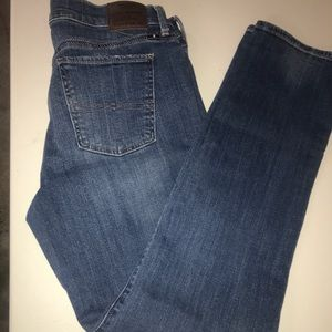 Lucky brand sweet and straight denim jeans size14